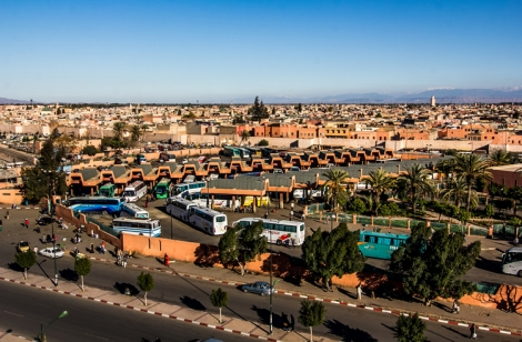 Panorámica de la Medina de Marrakech