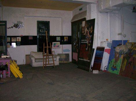 Tacheles, una de las galerías