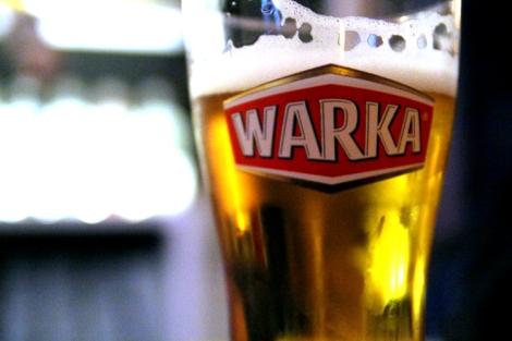 Warka 5zl en el bar Spectrum, Varsovia
