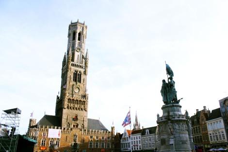 Monumento a los héroes de la insurrección: Jan Breydel y Pieter Coninck