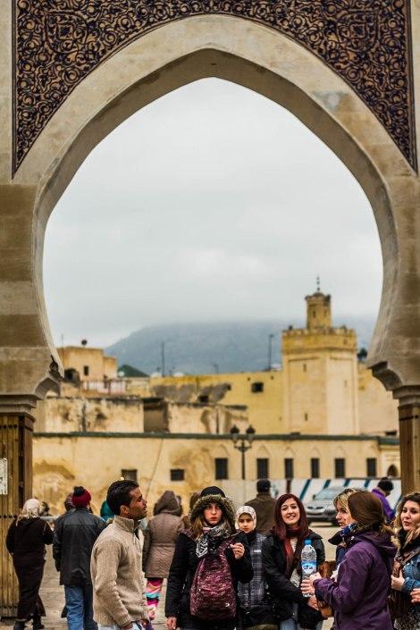 Puerta de Bab Bou Jeloud