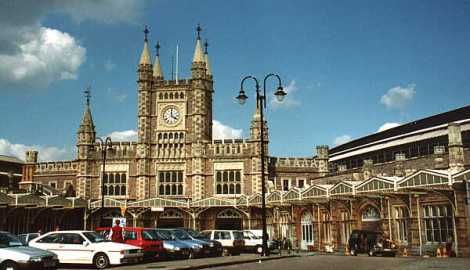 Temple Meads Train Station