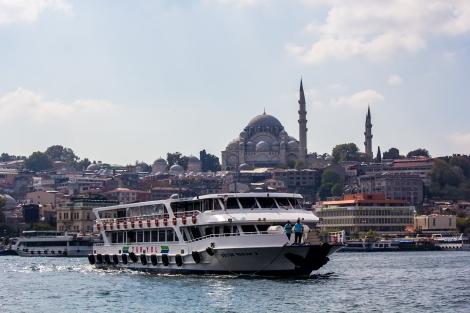 Estambul, panorámica de la parte asiática